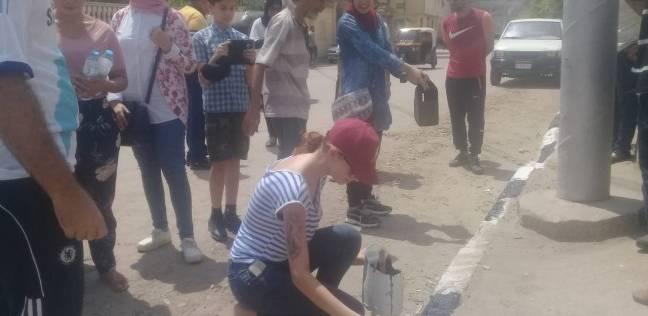 بالصور| حملة نظافة وتشجير بمشاركة 60 شابا في دمياط