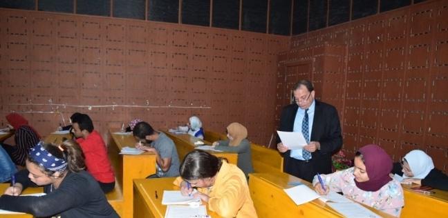 رئيس جامعة بني سويف يتابع سير امتحانات منتصف الفصل الدراسي الأول - مصر -
