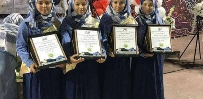 توأم رباعي فلسطيني يتمم حفظ القرآن