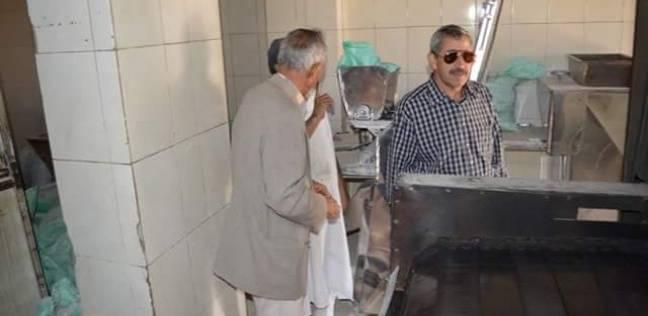 رئيس مدينة القصير يتفقد المخابز للاطئمنان على جودة الخبز