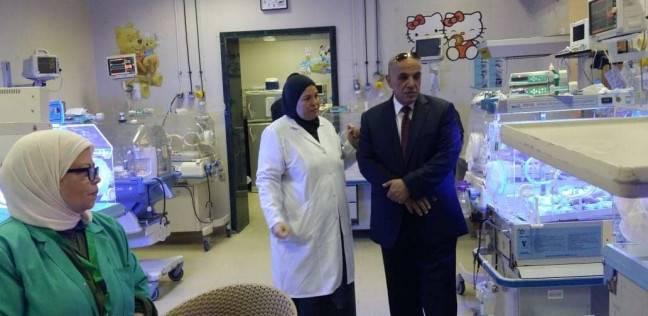 """وكيل """"صحة الإسكندرية"""" يتابع سير العمل بالمستشفيات أول أيام بالعيد"""