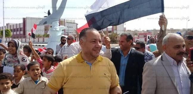 """""""معلمين بجنوب سيناء"""" تنظم مسيرة للحشد في انتخابات الرئاسة"""