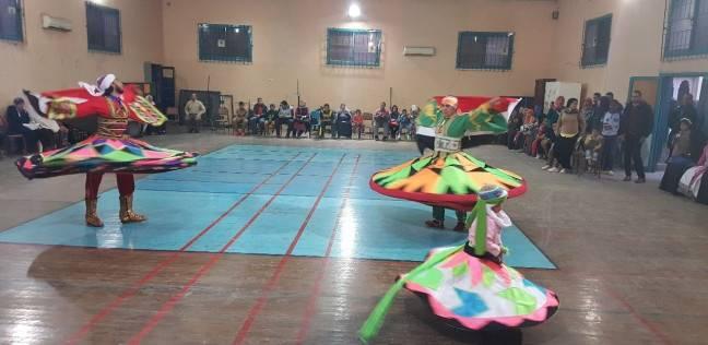 """""""بني سويف للفنون الشعبية"""" تحتفل بأعياد الميلاد بـ""""ثقافة بني سويف"""""""