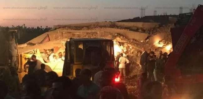 بالأسماء| ارتفاع أعداد ضحايا انهيار عقار أسيوط إلى 3 وفيات