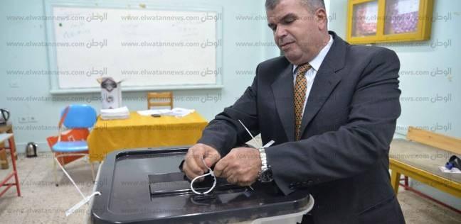 بالصور  إغلاق اللجان الانتخابية بالدقهلية وقوات التأمين تتسلم الصناديق