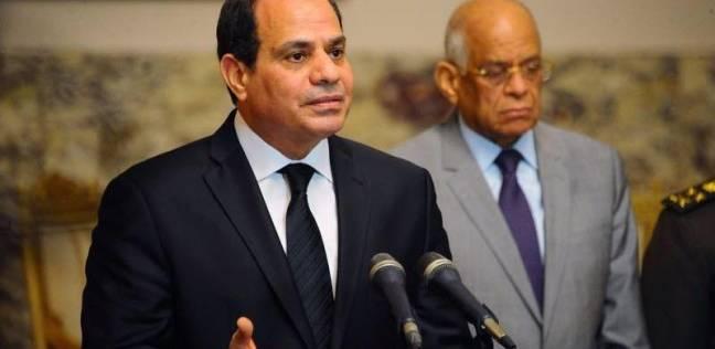 """شباب مؤتمر الإسماعيلية يستقبلون الرئيس بتصفيق وهتافات """"تحيا مصر"""""""