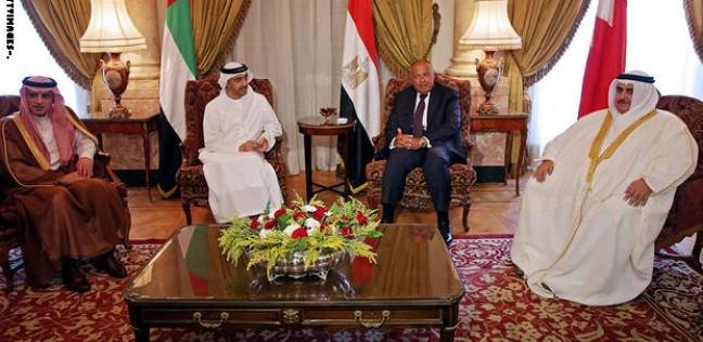 وزراء دول المقاطعة يعقدون اجتماعا في أبوظبي على هامش منتدى صير بني ياس