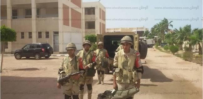 القوات المسلحة تتسلم المقرات الانتخابية بجنوب سيناء وتجري المسح الأولي
