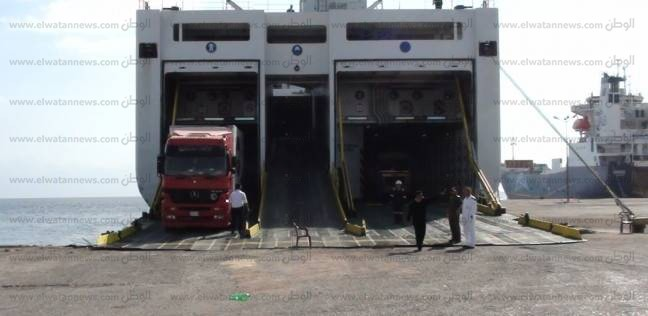 انتظام حركة الملاحة بموانئ البحر الأحمر وتداول 565 شاحنة خلال يومين