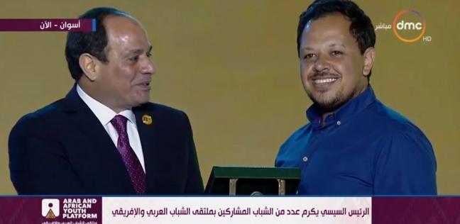 """الشامي يكشف لـ""""الوطن"""" كواليس حديثه مع السيسي أثناء تكريمه في ملتقى أسوان"""