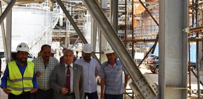 """محافظ أسوان: بدء التشغيل التجريبي بمجمع """"كيما 2"""" لإنتاج 1200 طن أمونيا"""