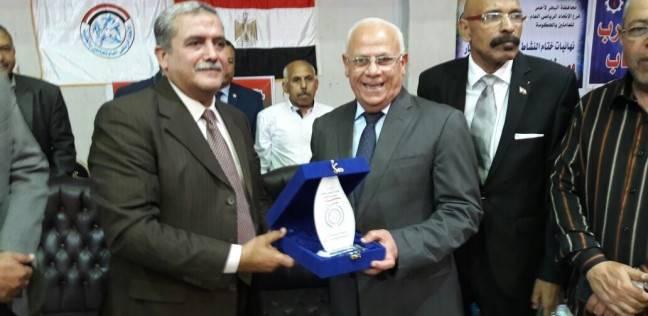 محافظ بورسعيد يفتتح بطولة المصالح الحكومية