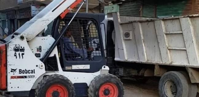 رفع 21 طن من المخلفات الصلبة والأتربة بدار السلام في سوهاج