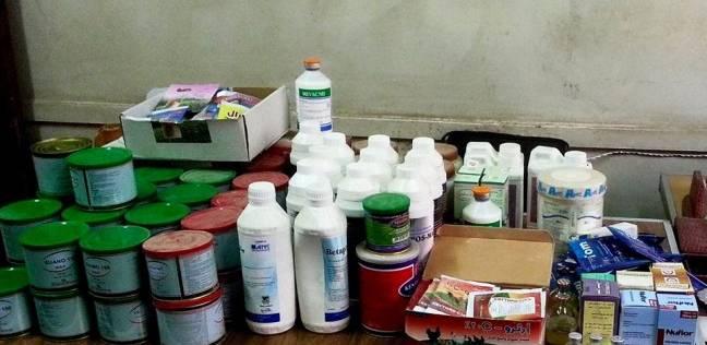 ضبط مركز لبيع الأدوية البيطرية بدون ترخيص بالشرقية
