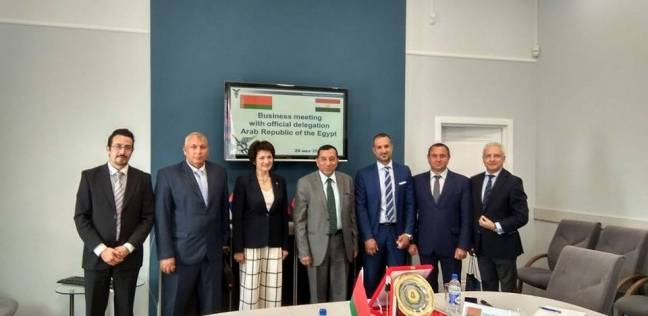محافظ الوادي الجديد يلتقي رئيس الغرفة التجارية ببلاروسيا