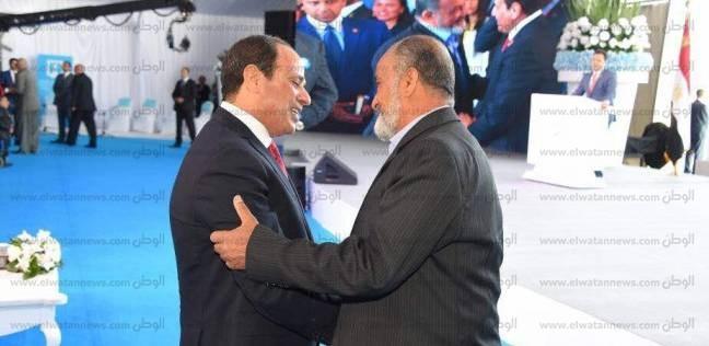 السيسي يعلن انطلاق مؤتمر الشباب.. ويقف دقيقة حدادا على أرواح الشهداء
