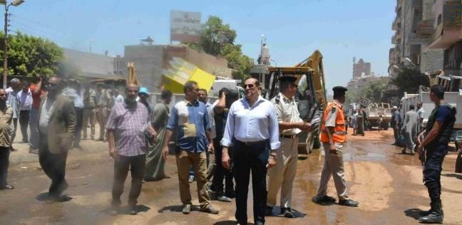 محافظ سوهاج يطالب مسؤولي الوحدات المحلية برفع مستوى النظافة العامة