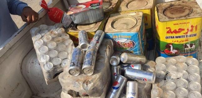 """""""تموين الفيوم"""": ضبط لحوم ومشروبات غازية منتهية الصلاحية بأحد المخازن"""