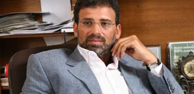 خالد يوسف: المشاركة الكبيرة في الانتخابات الرئاسية رسالة قوية