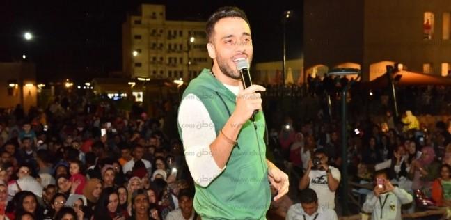 """رامي جمال يشيد بـ""""الممر"""": فيلم حربي بجودة عالمية"""
