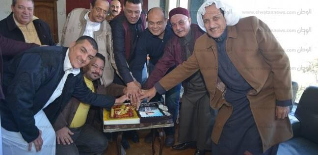 عمد ومشايخ مطروح يهنئون المحافظ لمرور ثلاث سنوات على توليه