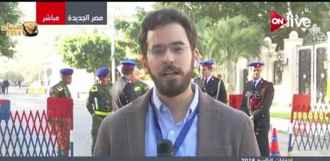 مراسل ON LIVE: السيسي ومنصور وإسماعيل يصوتون بمصر الجديدة بعد التاسعة