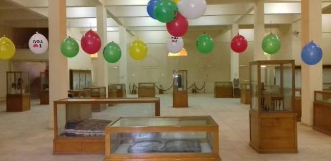بدء تنفيذ الأنشطة الصيفية والزيارات بمتحف آثار الوادي الجديد