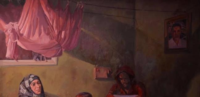 مشروع تخرج خالد العجيزى من كلية الفنون الجميلة وهو يجسد فيه حالة الفقد والاحتياج لوالده