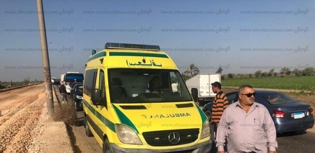 إصابة طالبة سقطت من قطار
