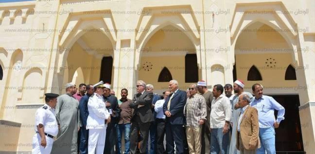 وزير الأوقاف يلقي خطبة الجمعة من مسجد الزهراء بالطور