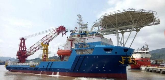 ميناء غرب بورسعيد يستقبل 5900 طن حديد على متن سفينة تركية