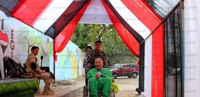 جنوب القاهرة.. «زغاريد» أمام اللجان.. والشرطة النسائية تؤمّن «التصويت»