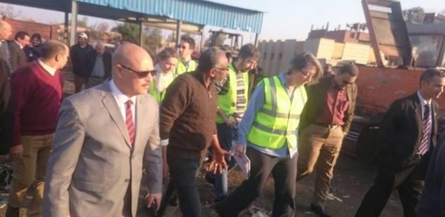 سكرتير عام الغربية: وضع خطوات عاجلة لتقنين مصنع تدوير القمامة بيئيا