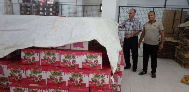 ضبط 5 أطنان منتجات جيلي فاسدة بمصنع في القناطر الخيرية