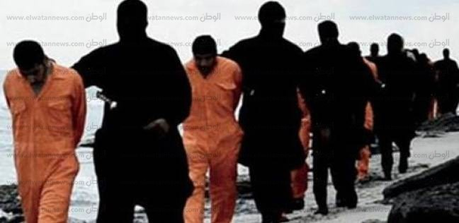 انتشال رفات جثث يعتقد أنها للمصريين الـ21 الذين ذبحهم «داعش»