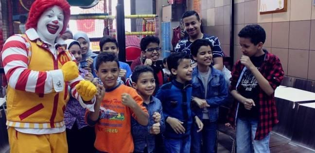 ماكدونالدز مصر تحتفل بيوم اليتيم في فروعها بمحافظات الجمهورية