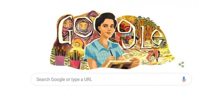 جوجل يحتفل بذكرى ميلاد الفنانة التشكيلية المصرية إنجي أفلاطون