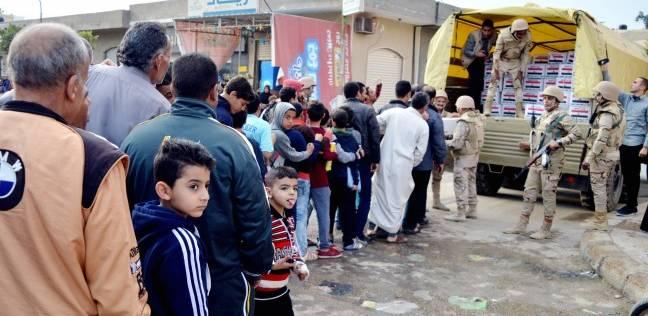 مصدر بـ«التموين»: مخزون السلع الأساسية فى «شمال سيناء» يكفى 3 أشهر