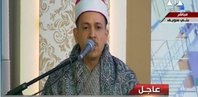 الشيخ خالد الجارحي.. مقرئ المشروعات القومية الكبرى