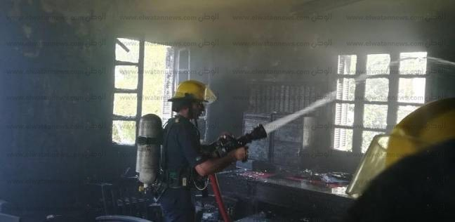 إصابة طالب باختناق في حريق حظيرة ماشية بمركز بركة السبع بالمنوفية