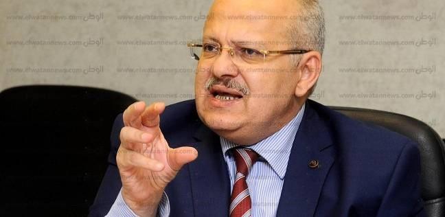 """رئيس جامعة القاهرة: قضينا على """"الطوابير"""" في الكشف الطبي للطلاب"""