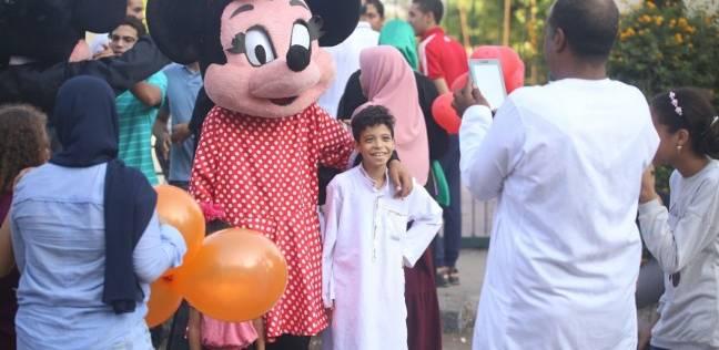 """مظاهر الاحتفال بعيد الأضحى عقب صلاة العيد بـ""""شيراتون"""""""