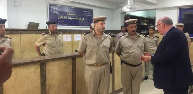 مدير أمن القليوبية يتفقد قسم أول شبرا ويراجع خطة الطوارئ