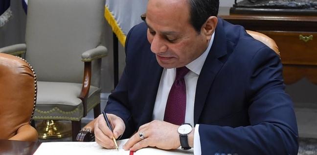 الرئيس السيسي يوجه بعلاج الطفلة حنين على نفقة الدولة