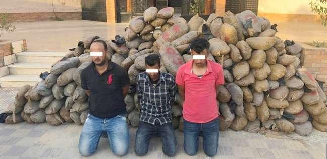 حوادث   سقوط  عصابة مخدرات  بـ طن بانجو  قبل ترويجها في عيد الفطر بالإسماعيلية