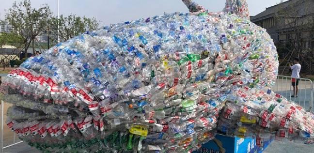 حوت بلاستيكي