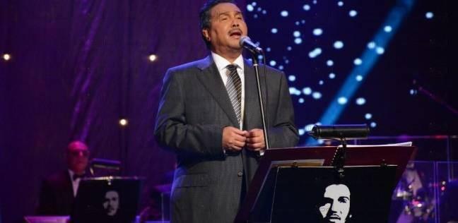 بالصور  الاستعدادات النهائية لحفل محمد عبده بالقاهرة