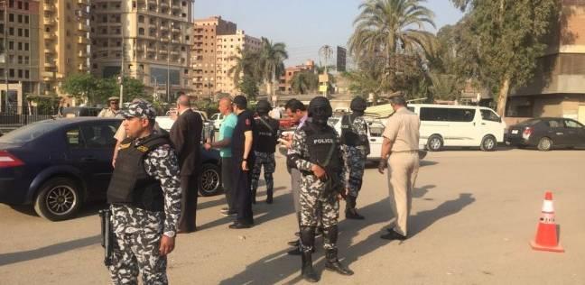 مدير أمن القليوبية يتفقد مركز شرطة قليوب