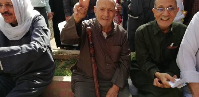استعدادات أمنية أمام لجان منشأة ناصر لليوم الثاني في الانتخابات