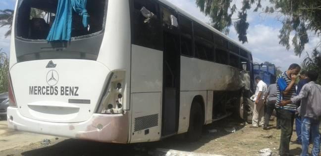 """""""الداخلية"""": خروج 16 مجندا من مصابي حادث البحيرة.. والأمن يمشط المنطقة"""